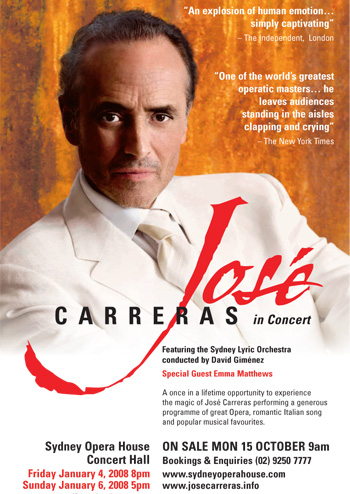 Jose Carreras in Concert