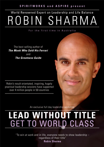 Robin Sharma – Lead Without Title