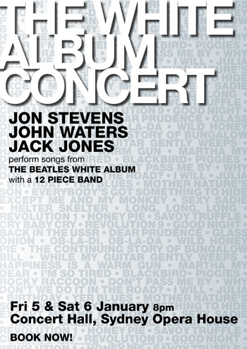 The White Album Concert 2007