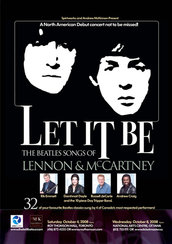 Let it Be Canadian Tour